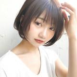デジタルパーマ ベリーショート ショート ニュアンスウルフヘアスタイルや髪型の写真・画像