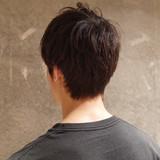 メンズショート ショート 刈り上げ メンズヘア ヘアスタイルや髪型の写真・画像 | 刈り上げ・2ブロック専門美容師 ヤマモトカズヒコ / MEN'S GROOMING SALON AOYAMA by kakimoto arms