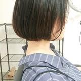 ボブ ショートボブ ミニボブ 簡単スタイリング ヘアスタイルや髪型の写真・画像[エリア]