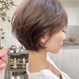 ゆるふわ ナチュラル アウトドア パーティー ヘアスタイルや髪型の写真・画像 | ショートボブの匠【 山内大成 】『i.hair』 / 『 i. 』 omotesando