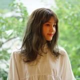 圧倒的透明感 大人可愛い シアーベージュ ロング ヘアスタイルや髪型の写真・画像[エリア]