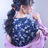 デート ガーリー 結婚式 簡単ヘアアレンジ ヘアスタイルや髪型の写真・画像 | 伊藤 裕貴 / LOAOL上小田井店