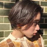 ミニボブ パーマ ナチュラル 抜け感 ヘアスタイルや髪型の写真・画像[エリア]