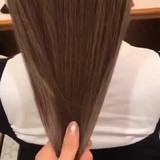 透明感 ナチュラル ベージュ 透明感カラー ヘアスタイルや髪型の写真・画像[エリア]