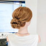 ヘアセット ロング セルフヘアアレンジ 三つ編み ヘアスタイルや髪型の写真・画像   美容師HIRO/Amoute代表 / Amoute/アムティ