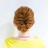 ヘアアレンジ フェミニン ロープ編み ロング ヘアスタイルや髪型の写真・画像   美容師HIRO/Amoute代表 / Amoute/アムティ