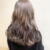 デート 外国人風カラー セミロング ダブルカラー ヘアスタイルや髪型の写真・画像 | 松永 康太 / Vida creative hair salon
