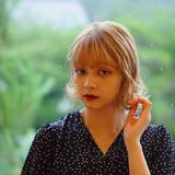 ボブ 夏 ミルクティーベージュ 大人可愛い ヘアスタイルや髪型の写真・画像   川村勇貴 / BEAUTRIUM鎌倉小町店