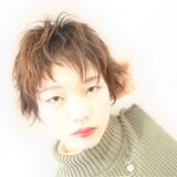 かっこいい ショート ハイライト ナチュラル ヘアスタイルや髪型の写真・画像[エリア]