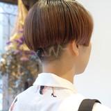 ベリーショート ショート ツーブロック モード ヘアスタイルや髪型の写真・画像[エリア]
