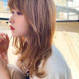 簡単スタイリング ミディアム レイヤーカット 大人かわいい ヘアスタイルや髪型の写真・画像 | 櫻木裕紀 / Agnos青山