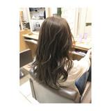 艶髪 暗髪 ロング エレガント ヘアスタイルや髪型の写真・画像