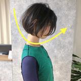 ミニボブ 黒髪 ストレート ナチュラルヘアスタイルや髪型の写真・画像