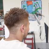 ハイトーン ショート メンズ ナチュラル ヘアスタイルや髪型の写真・画像