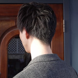 刈り上げ ツーブロック ナチュラル メンズショートヘアスタイルや髪型の写真・画像