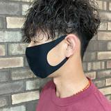 ショート メンズパーマ メンズヘア メンズ ヘアスタイルや髪型の写真・画像
