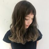 グレージュ 外国人風カラー 外国人風 モード ヘアスタイルや髪型の写真・画像 | Misaki / BUMP