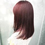 ガーリー ラベンダーピンク 大人女子 愛されヘアスタイルや髪型の写真・画像
