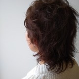 モード ウルフカット ショート グレージュ ヘアスタイルや髪型の写真・画像   北野陽平 / holm hair