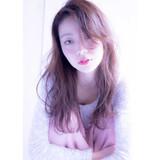 外国人風 ガーリー 大人かわいい セミロング ヘアスタイルや髪型の写真・画像