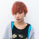 ストリート ベリーショート 外国人風 外国人風カラーヘアスタイルや髪型の写真・画像