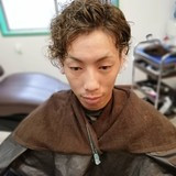 パーマ メンズ メンズスタイル ショート ヘアスタイルや髪型の写真・画像 | 矢野真人 / L e・L i e n(ル・リアン)