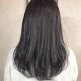 シルバーアッシュ ラベンダーグレージュ アディクシーカラー オルティーブアディクシー ヘアスタイルや髪型の写真・画像