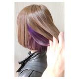 透明感カラー 透明感 フェミニン アッシュ ヘアスタイルや髪型の写真・画像