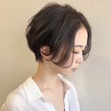 ナチュラル 黒髪ショート ショート ハンサムショート ヘアスタイルや髪型の写真・画像   高橋 幸嗣 / Befine