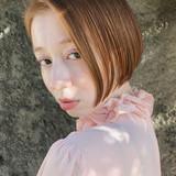 ショートボブ ミニボブ ボブ 透明感 ヘアスタイルや髪型の写真・画像[エリア]