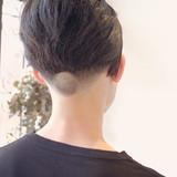 ショート 刈り上げ ツーブロック メンズショート ヘアスタイルや髪型の写真・画像[エリア]
