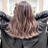ストリート 外国人風カラー ロング ハイトーン ヘアスタイルや髪型の写真・画像