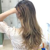 外国人 外国人風 外国人風カラー 外国人風フェミニン ヘアスタイルや髪型の写真・画像