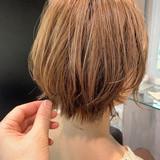 小顔ショート ショートヘア ミニボブ ナチュラル ヘアスタイルや髪型の写真・画像