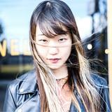 モード ロング デート ヘアスタイルや髪型の写真・画像[エリア]