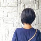 ショートヘア ショートボブ ナチュラル ショート ヘアスタイルや髪型の写真・画像[エリア]