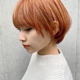 ナチュラル ミニボブ ショートボブ マッシュショートヘアスタイルや髪型の写真・画像