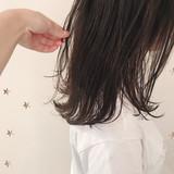 ミディアム ミディアムレイヤー 大人かわいい 大人女子 ヘアスタイルや髪型の写真・画像 | 市川千夏*札幌 / salon AKIRA