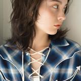 ニュアンスウルフ ウルフ女子 マッシュウルフ ウルフカット ヘアスタイルや髪型の写真・画像