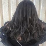 ストリート ミディアム デート グレージュ ヘアスタイルや髪型の写真・画像