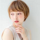 ショートヘア マッシュショート ショート ナチュラル ヘアスタイルや髪型の写真・画像   岩舘 司 / Agu hair