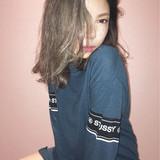 ミディアム グラデーションカラー 外国人風 アッシュ ヘアスタイルや髪型の写真・画像