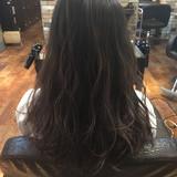 ローライト ハイライト 暗髪 ナチュラル ヘアスタイルや髪型の写真・画像