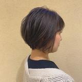 ナチュラル アンニュイほつれヘア ショートヘア パーマ ヘアスタイルや髪型の写真・画像