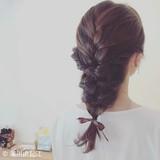 デート ヘアアレンジ ロング モテ髪 ヘアスタイルや髪型の写真・画像
