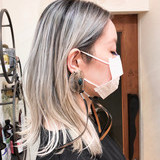 ボブ グラデーションカラー インナーカラー バレイヤージュ ヘアスタイルや髪型の写真・画像