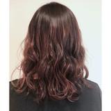 アンニュイほつれヘア デート ピンク 外国人風 ヘアスタイルや髪型の写真・画像