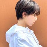 マッシュショート ショートヘア ショート ショートボブ ヘアスタイルや髪型の写真・画像[エリア]