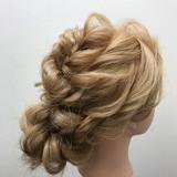 エレガント 上品 女子会 ヘアアレンジ ヘアスタイルや髪型の写真・画像