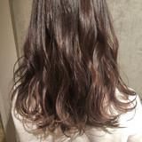 フェミニン ウェーブ ゆるふわ デート ヘアスタイルや髪型の写真・画像